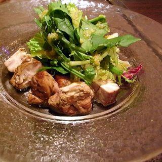 鳥取大山鶏のロースト トリュフ風味(オステリア・アウストロ (Osteria Austro))