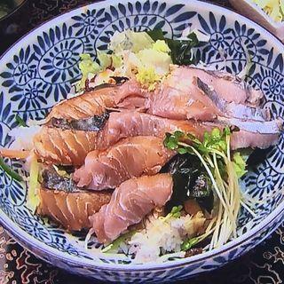 生サワラ丼(淡路島 タコしゃぶ の温泉宿 旅館川長 )