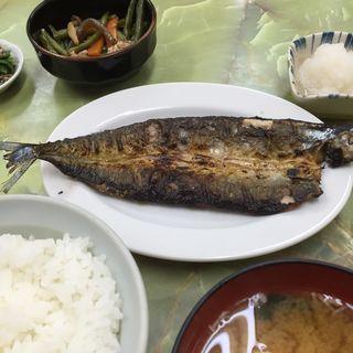 サンマの開き焼き定食(定食のヤシロ )