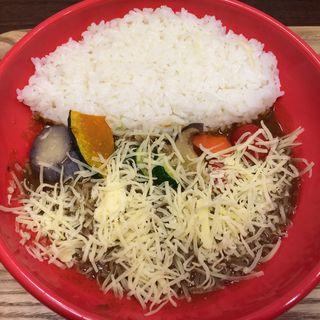 7種の野菜カレー(カレースマイル (【旧店名】ライブカレー南))