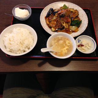 マーボーナス定食(勇記餃子房 (ユウキギョウザボウ))