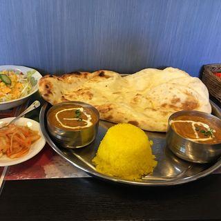 クアトロセット(インド料理 ガンディ)