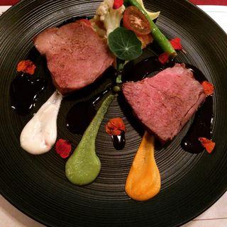メインのお肉たち(Bistro pas mal)