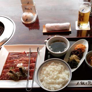 S焼肉ランチ(叙々苑 新宿小田急ハルク店 (ジョジョエン))
