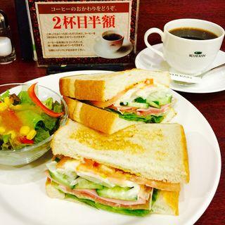 野菜サンドウィッチ(珈琲館 けやきウォーク前橋店 )