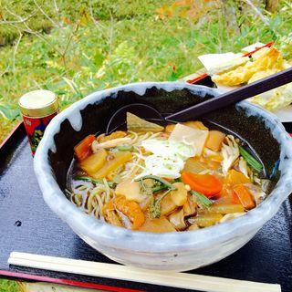 けんちん蕎麦(十割蕎麦)(風の庵 (かぜのいおり))