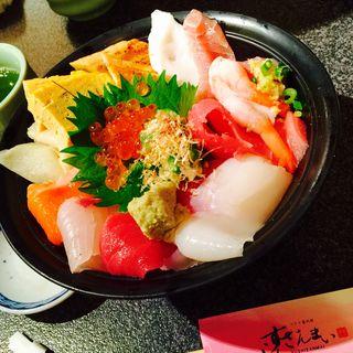 海鮮丼(すしざんまい 有楽町店 )