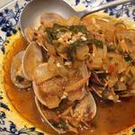 タイ風アサリのバジル炒め