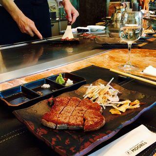 鉄板焼 黒毛和牛ステーキコース(モーリス)