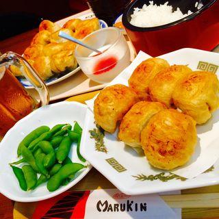 餃子セット(丸金餃子 (まるきんぎょうざ))