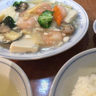 豆腐と海老の煮込み(栄福樓 )