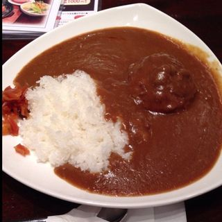バンバーグカレー(ぎゅう丸 ゆめタウン博多店)