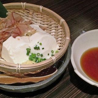 ざる豆腐(へちもん )