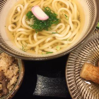 おでん定食(博多うどん よかよか 有楽町店)