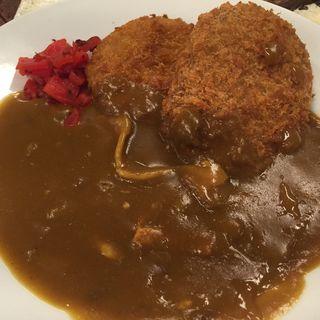 メンコロミックスカレー掛け(三ちゃん食堂 (さんちゃんしょくどう))
