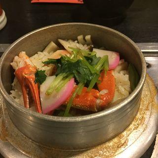 カニ釜飯(まこと 参道店 )