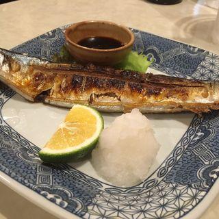 秋刀魚の塩焼き(てっ平)