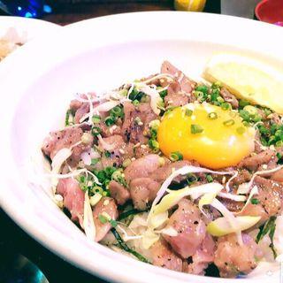 山形牛炙りユッケ丼(新千葉ビアホール )