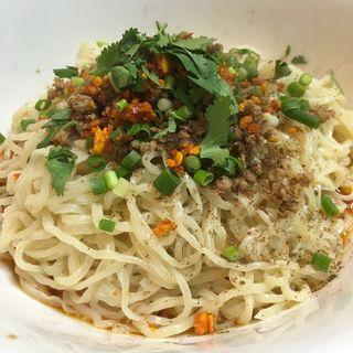 四川式汁なし担々麺(天辺 )