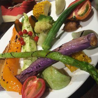 こだわり野菜いろいろ調理