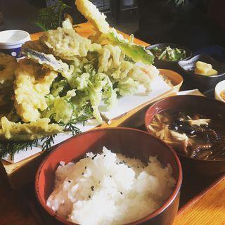 色々天ぷら定食(仙人小屋 )