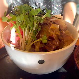 鹿肉丼(仙人小屋 )