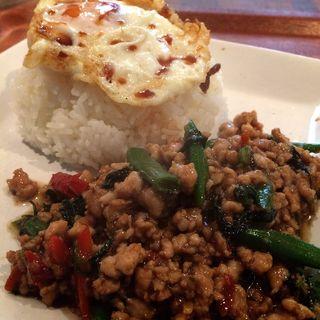 パッカパオランチ(タイ キッチン KARAHORI (Thai Kitchen))