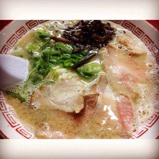 塩豚骨ラーメン(博多 豚十郎 )
