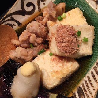 揚げだし豆腐(喰心-meat Dining- (クウシン))