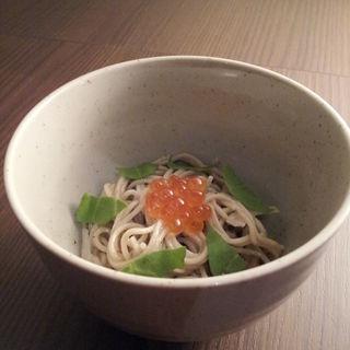 イクラ蕎麦(桜杏 (OH-AN))