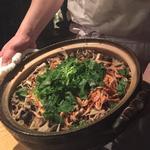 桜エビの土鍋ご飯