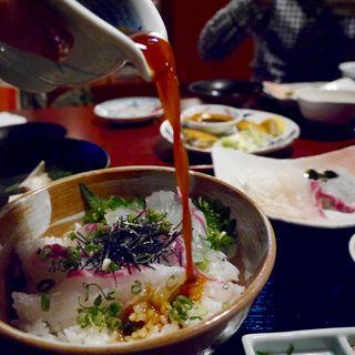 鯛めし(宇和島風)味噌汁付(おいでん家 (おいでんか))