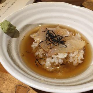 鯛茶漬け(おいない市場小路 四条烏丸店 (おいないいちばこうじ))