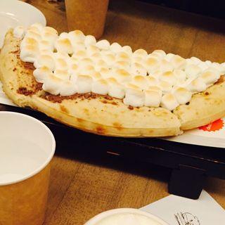 チョコレートチャンクピザ 1/2サイズ(MAX BRENNER CHOCOLATE BAR表参道ヒルズ)