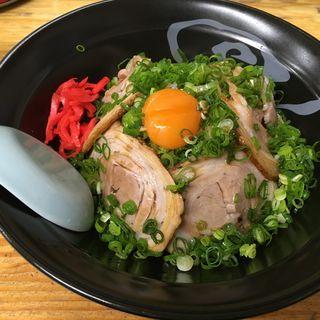 焼豚丼(ラーメン場鶴 )