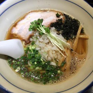 淡麗煮干中華そば(麺屋しとらす)