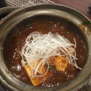 白子麻婆豆腐(本格炉端焼き人夢叶思ひとむかし )