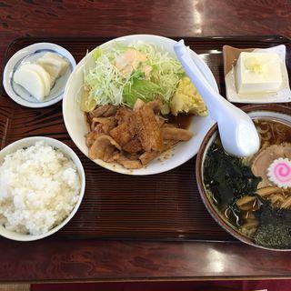 焼肉並定食 ランチ(美代志食堂 (ミヨシショクドウ))