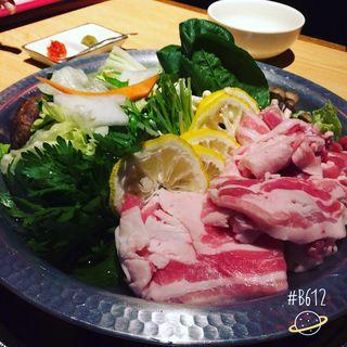 柚子鍋(おうどん 銀座 うらら)