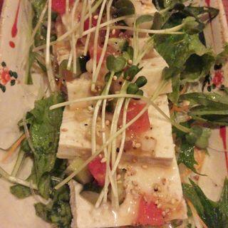 豆腐サラダ(漁火 経堂店 )