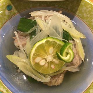 中トロ九条葱のサッパリ煮(すし和食のお店田まい (たまい))