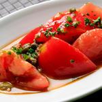 トマトのオイル合わせ