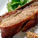 豚モモ肉のステーキ