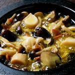 キノコのオイル煮