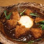 チキンの味噌カツ煮