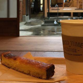ベイクドチーズケーキ(GOOD TIME COFFEE (グッドタイムコーヒー))