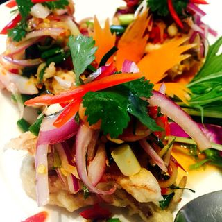 プーニムトードカテイアムプリックタイ(バンコクキッチン 自由が丘店 (Bangkok Kitchen))