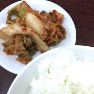 キムチ+ごはん(おかわり自由)(香来 中央市場店 (コウライ))