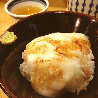 朝ごはん とろろご飯(大阪屋 (おおさかや))