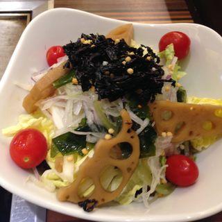 サラダ(お好み焼 きじ 品川店 )